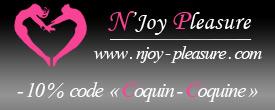 Annonce partenaire : Remise de 10% chez Njoy Pleasure, Sextoys, Lingerie et accessoires de plaisirs